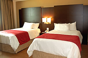 Double room with 2 large beds - Principe Hotel & Suites, Panama